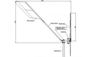 Схема головы ветрогенератора